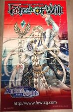 Force of Will FOW TCG R1 Faerur Letoliel, King of Wind ORIGINAL WALL BANNER NEW