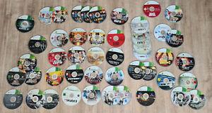 LOT JEUX XBOX 360 (42 JEUX !!) GTA V, SKYRIM, Rdr, Call of, Fifa...
