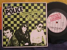The Police Nothing Achieving / Fall Out .Illegal Recods IL001 Vinyl 7inch Single