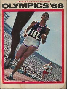 1968 Mexico City Summer Olympics Reynolds Aluminum Guidebook