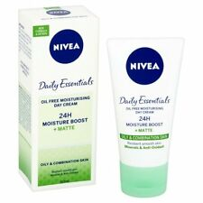 Nivea Visage Daily Essentials Oil Free Moisturising Day Cream 50ml FREE POSTAGE