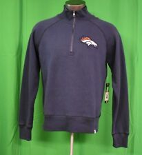 '47 Brand NFL Mens Denver Broncos 1/.4 Zip Pullover Jacket LOOK M