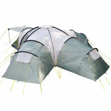 skandika Korsika 10 Family Dome Camping Large Group Green Tent