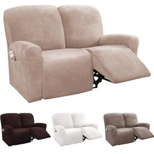 Recliner Chair Slipcover Sofa Cover Couch Armchair Protector For 1/2/3 Seaters