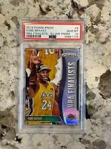2019/20 Panini Prizm Kobe Bryant NBA Finalists Silver Prizm PSA 10 *179