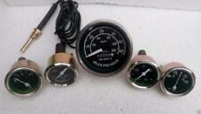 Willys MB Jeep Ford GPW CJ - Speedometer  Temp Oil Fuel  Amp Gauges Kit- A3