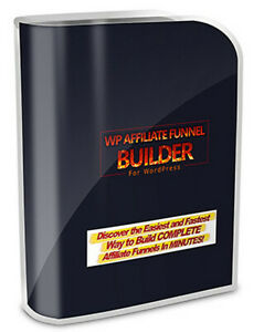 WP Affiliate Funnel Builder - Anyone Can Create Complete Affiliate Funnels