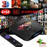6K 4+64G Android 9.0 6K HD TV BOX Quad Core WIFI 64Bit CPU 3D Home Movies Player