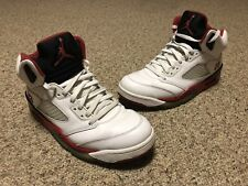 Air Jordan V 5 Retro Fire Red Black Tongue Edition 136027-120 Size 11.5