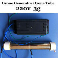 220V 3g AC Ozone Generator Ozone Tube DIY 3g/hr for Pool Water Plant Purifier