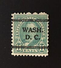 Washington, D.C. DLE Precancel - 11 cents Hayes (U.S. #692) - DC