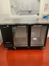 Turbo Air Tbb-2Sg-N - Glass Two Door Back Bar Cooler