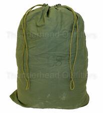 Us Army Barracks Bag Od Green 100% Cotton Large Laundry Bag Military Usgi Acc