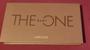 LAWLESS THE BABY ONE PALETTE 8 SHADES 2 METALLIC 6 MATTE NWOB