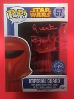 QUENTIN PIERRE Autogramm FUNKO POP signed STAR WARS in Person autograph GUARD