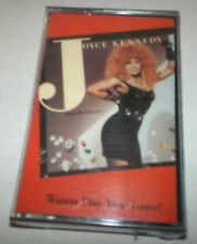 Wanna Play Your Game! - Joyce Kennedy - Cassette - SEALED