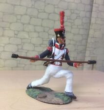 NAPOLEONIC WARS, FRENCH ARTILLERY GUNNER   54MM PAINTED METAL