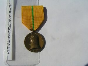 belgium Medal Commemorative of the Reign of Albert Ist. 1909-1934.