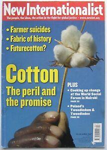 New Internationalist Cotton NI 399 April 2007 (Magazine, Paperback)