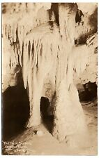 Oregon Caves Twin Sisters Formation RPPC Vintage Real Photo Postcard 1929