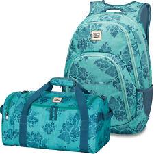 DAKINE SET Laptop Rucksack Schulrucksack EVE + EQ BAG SM Sporttasche Reisetasche