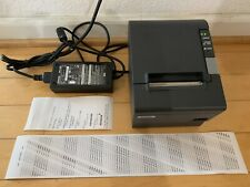 Epson TM-T88IV POS USB Thermal Receipt Printer M129H, PS-180