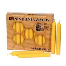 20 Pack cera de abeja Velas Para Árboles - Puro con typischem bienenwachsduft