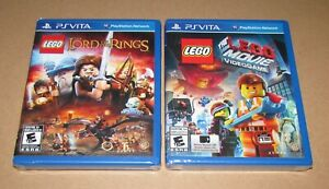 LEGO The Lord of the Rings & Lego Movie for Vita Brand New / Fast Shipping