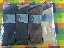 Nouveau Homme 100% Coton Big Foot Multi Couleur Lot Chaussettes Taille UK 10-13 Pack de 12