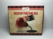 Cheer Stress Reliever Suction Cup Desktop Punching Bag New (Open Box)