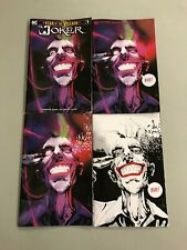 4x JOKER YEAR OF THE VILLAIN JOCK JETPACK  EXCLUSIVE; CONVENTION VIRGIN MINIMAL
