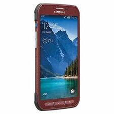 Samsung Galaxy S5 Active SM-G870A  4G LTE 16GB Ruby Red (GSM Unlocked) AT&T.Good