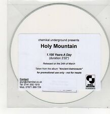 (FF250) Holy Mountain, 100 Years A Day - DJ CD