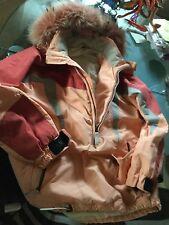 DAMEN SCHNEEHEMD SKIANORAK-   JACKE  ' COLMAR Sportswear'   Gr.36  mit Pelz