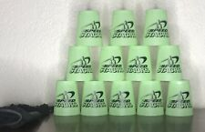 Official WSSA Genuine Speed Stacks 12 Green Cups with Travel Carry Bag