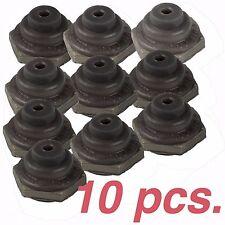 10 pcs - APM HEXSEAL N1030B Toggle Switch Boot , 15/32-32NS , C1132/25-20-BLACK