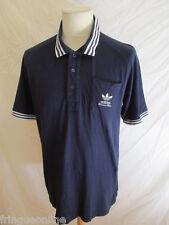 Polo Adidas Bleu Taille L à - 54%