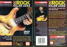 Lick Library 50 Rock Killer Licks Guitar Instruction DVD by Stuart Bull