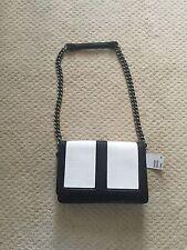 H & M Black And White Snake Skin Handbag Shoulder Purse