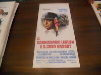 LOCANDINA ORIGINALE IL COMMISSARIO LEGUEN E IL CASO GASSOT JEAN GABIN 1972