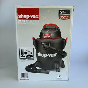 """Shop.vac Wet/Dry Vacuum 5Gal 3.5 Peak Hp W/ filters & Accessories, 1 1/4"""""""