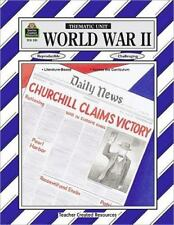 Thematic Units: World War II by Julie R. Strathman (1994, Paperback, New...