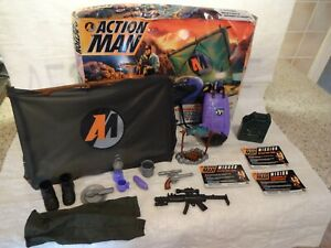 Action Man Survival Base Camp Accessories Boxed Hasbro 1994
