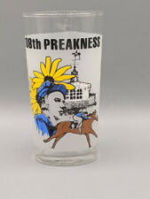 1983 Preakness Stakes 108th Pimlico Souvenir Glass Triple Crown Horse Racing