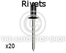 Remaches Uñas 2,9 Uso Con Asiento sujetadores 5mm Peugeot 1007/207/301 Etc 20PK 4077pe