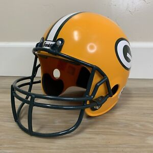 Child Toy Franklin Green Bay Packers Youth Size Football Helmet For Costume