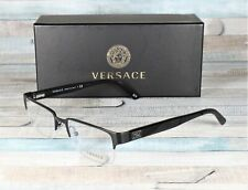 Versace VE1184-1261 MATTE BLACK Demo lens 53 mm Men's Eyeglasses