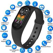 2020 M5 Smart Watch Band Bracelet Health Heart Rate Fitness tracker Bluetooth UK