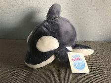 BNWT Tatty Teddy & My Blue Nose Friends Hugo The Orca #29 Cute Plush Soft Toy