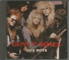 Guns N' Roses  - nice boys live import cd album